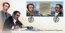 Pitcairn Isl 2018 FDC Constitution Russell Eliott 2v Cover Boats Ships Stamps