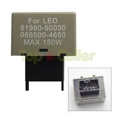 1x8 Pin LED Flasher Relay Fix Signal Lights Blink Blinker Hyper Flash For Lexus