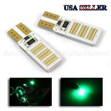 Laser Style! 2Pc Jdm Super Green 24-Chip Cob T10 194 168 W5W 161 147 Light Bulbs