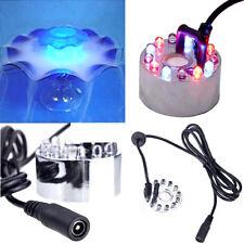 12 LED Vernebler Luftbefeuchter Nebler Ultraschall Für Zimmerbrunnen Neu