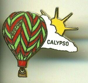 Calypso Hot Air Balloon Pin