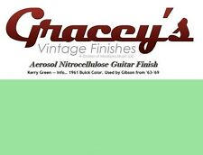 -Kerry Green- Gracey's Vintage Finishes Nitrocellulose Guitar Lacquer Aerosol.