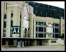 Cleveland Municipal Stadium Photo Large 11X14  1960 Indians Browns Feller Brown