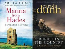 CAROLA DUNN ___ 2 BOOK SET ____ CORNISH MYSTERIES ___ BRAND NEW ___ FREEPOST UK