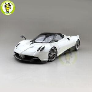 1/18 LCD Pagani HUAYRA ROADSTER SUPER Racing CAR Diecast Model Car Gifts White