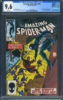 Amazing Spider-Man 265 (Marvel) CGC 9.6 White Pages 1st App of Silver Sable