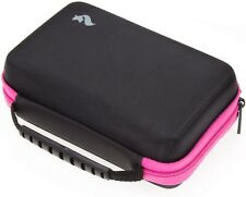 Nintendo 2DS XL/3DS/3DS XL Storage Travel Carry Case & Stylus, Fits Wall Charger