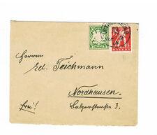 Bavière pur Enveloppes MIF avec MiNr. 61 et 180 timbrés par la 22.4.1920