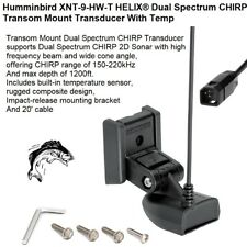 Humminbird XNT-9-HW-T HELIX® Dual Spectrum CHIRP Transducer With Temp/20' Cable