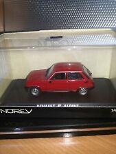 Renault 5 alpine Rojo  norev 1/43