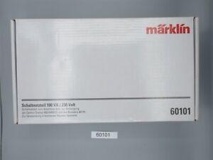 Märklin 60101 Schaltnetzteil 100VA für 60216 bzw. 60226 #NEU in OVP#