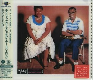 Ella Fitzgerald & Louis Armstrong - Ella And...++UHQCD Japan Import+++++NEU++OVP