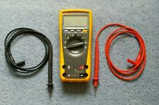 Fluke 179 digital true RMS multimeter probes / test leads very clean
