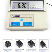 Benchtop High Accuracy PH Meter Tester Digital Display Precision Measuring Tool