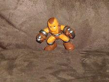 Shocker (Spiderman Villain) Dark Brown Eyes - Super Hero Squad Cake Topper