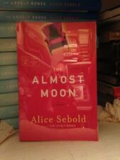 SIGNED ARC! Alice Sebold 'The Almost Moon' + extras