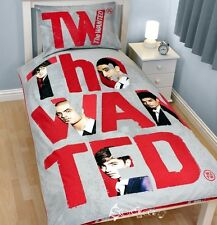 The Wanted Forever Official Single Duvet Cover Bed Set Max Tom Nathan Siva Jay