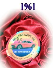 Corvette 1961  Casino Chip Hot August Nights Lake Tahoe Reno $5 Issued 1999 Luck