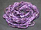 Twist A Bead Genuine 1980's Original Necklace 32-36 inch strands-AMETHYST 1 stra