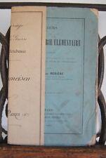 █ Alphonse Rebière 1889 COURS TRIGONOMETRIE ELEMENTAIRE █
