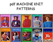 Extra Electronic Knitting Machine Pattern books & DAK files on CD