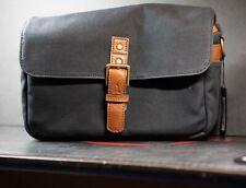 ONA Bowery Camera Bag (Waxed Canvas, Black) NEW