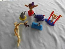 2012 Mcdonalds MADAGASCAR 3 Movie set lot 6 figure cake topper ALEX MARTY MELMAN