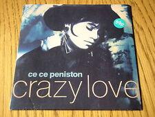 "CE CE PENISTON - CRAZY LOVE   7"" VINYL PS"