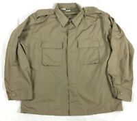 Propper Uniform Poly / Cotton Ripstop BDU Coats Sz Larg.Reg #A15