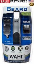 BEARD MUSTACHE TRIMMER Wahl Men Grooming Razor Battery Operated Hair Clippers