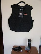 HARLEY DAVIDSON Vest, Sunglasses, Water Container and more  NEW!