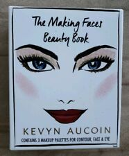 NEW Genuine KEVYN AUCOIN The Making Faces Beauty Book Makeup Palettes Eyeshadow