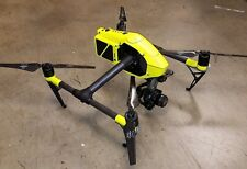 DJI Inspire 2 Fluorescent Hi-Glow Yellow  vinyl skin / wrap / decal, UK made