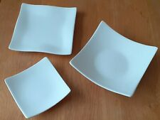 Fused glass slumping moulds, job lot three mixed square plate / bowl moulds, new