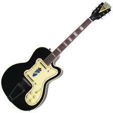 Kay K161VBK Thin Twin Electric Guitar -Reissue - Artist Demo//NAMM- Black w/Case