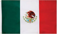 Mexican Flag 3 x 5 Feet Mexico Country Soccer Outdoor Banner Grommets Usa