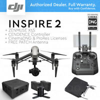 DJI INSPIRE 2 RAW LC3 + Cendence + X5S + Cinema DNG, ProRes + FREE PATCH Antenna
