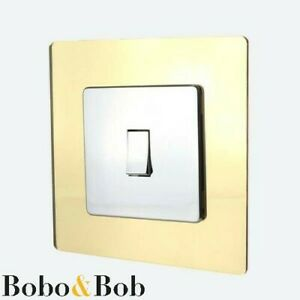 Light Switch or Socket Surround - Single or Double - Wall Protector Finger Plate