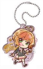Card captor Sakura anime Clamp Pita! Deforme Acrylic Keychain - school uniform