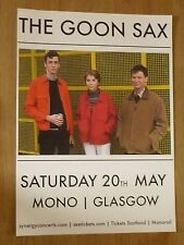 The Goon Sax - Glasgow may 2017 tour concert gig poster