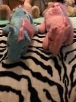 1982 Vintage My Little Pony Pyjama cases Bowtie & Cotton Candy