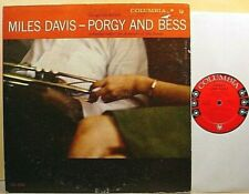 MILES DAVIS - Porgy and Bess - '58 Columbia label 6-eye MONO LP - DG, 2C/2C