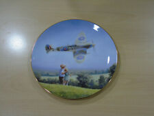 Royal Doulton Deferenders Of The Realm Spitfire Flypast Pn183 1997 China Plate