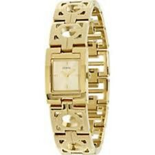 New Authentic GUESS U95127L1  Women Gold Tone Stainless steel Bracelet watch NWT