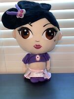 "USED Sushiami The Sydney plush doll 17""- Purple And Pink Outfit"