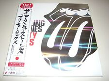 """THE ROLLING STONES Forty Licks Limited Edition 2 CD Japan 12"""" Box Set Mouse Pad"""