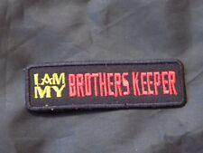 Widows Sons Brothers Keeper Masonic Patch Iron Sew Freemason Fraternity NEW!