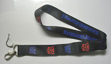 Transformers Optimus Prime Black Color Fabric Lanyard Keychain