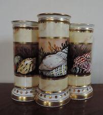 Minoprio Derby Porcelain Mantle  Vase Flight Barr Worcester Style Sea Shells