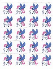 20 x Beautiful Unicorn Temporary Tattoos -  Great Kids Party Favours